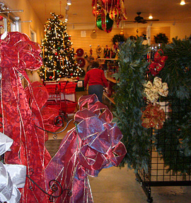 Super Selection Of Fresh Wreaths, Roping, Christmas Trees, Plus Holiday  Decorations And Ornaments